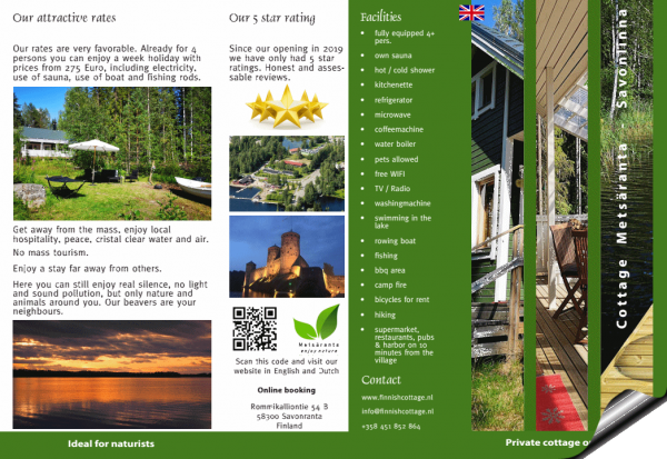 Brochure front English
