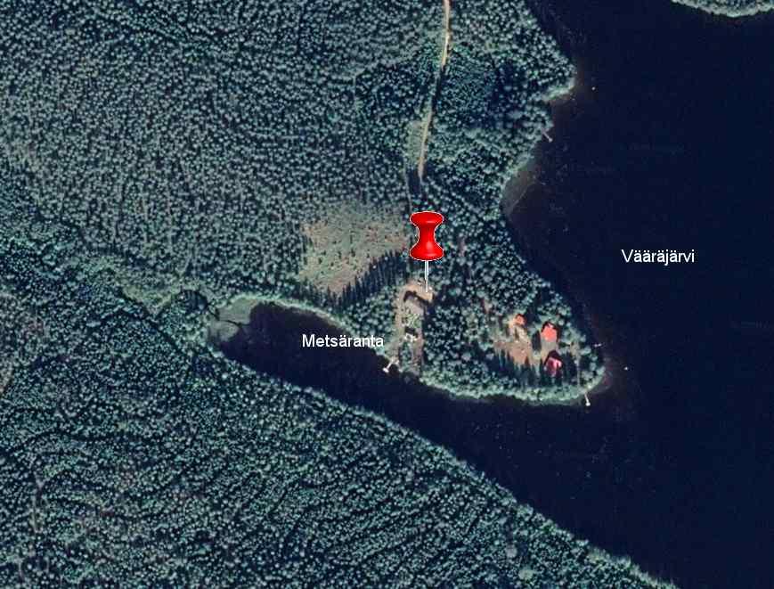 Satelliet fotos Cottage Metsaranta Savonranta