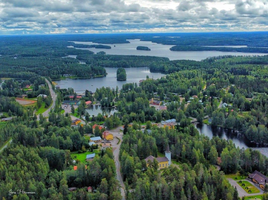 Savonranta luchtfoto