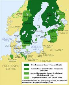 Swedish Empire (1560-1815)