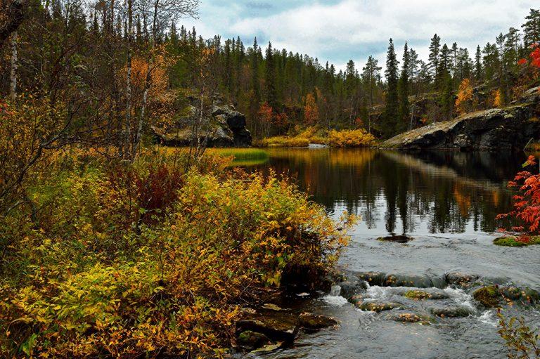 Herfst in Finland