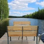finnishcottage.nl seat on the water